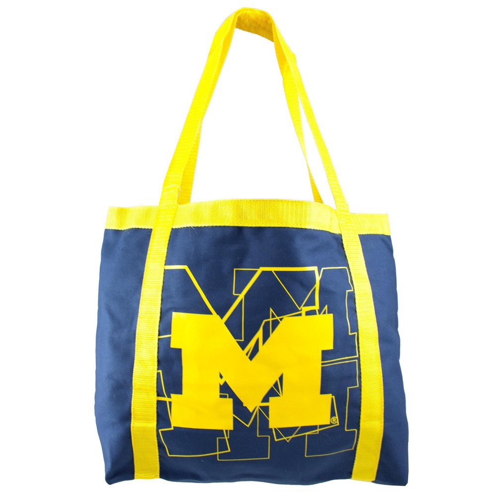 NCAA Michigan Wolverines Little Earth Team Tailgate Tote, Adult Unisex