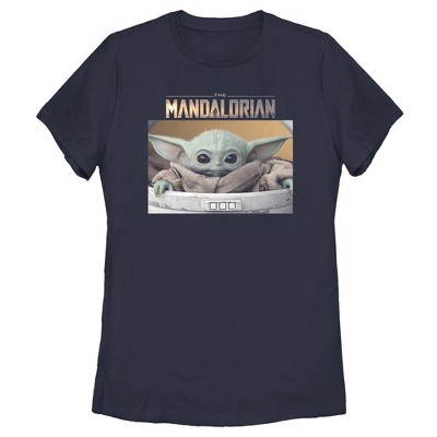 Women's Star Wars The Mandalorian The Child Bassinet T-Shirt