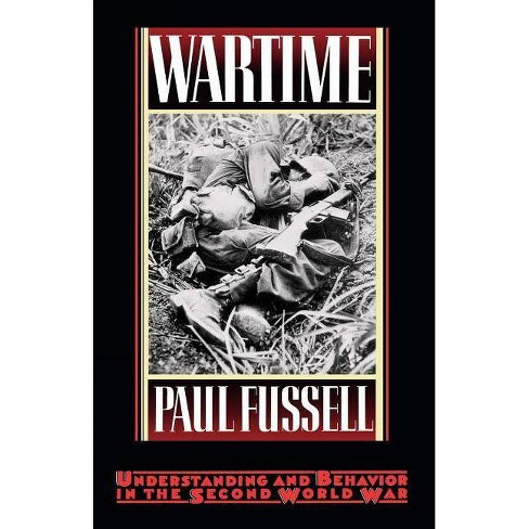 Wartime - by  Paul Fussell (Paperback) - image 1 of 1