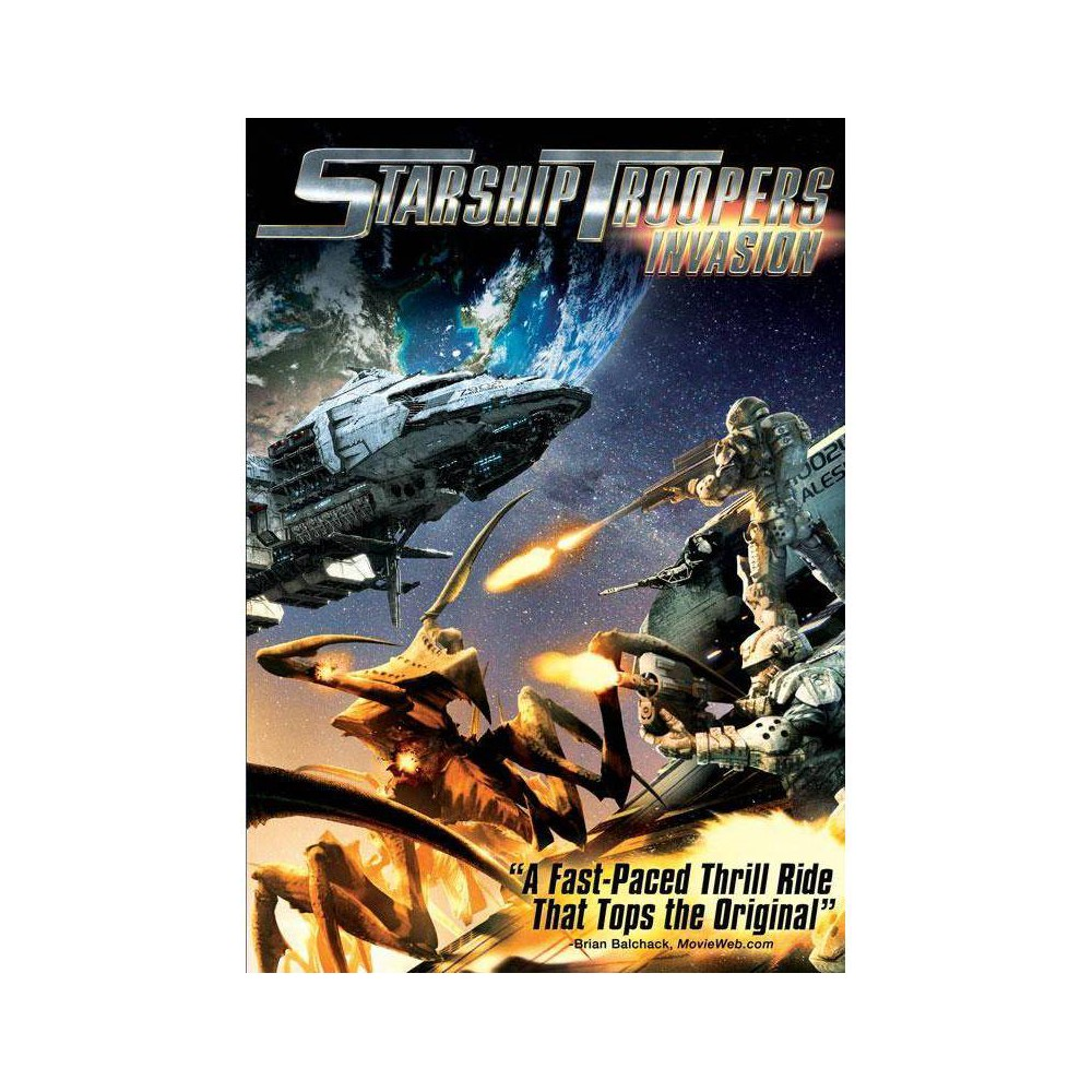 Starship Troopers Invasion Dvd 2012