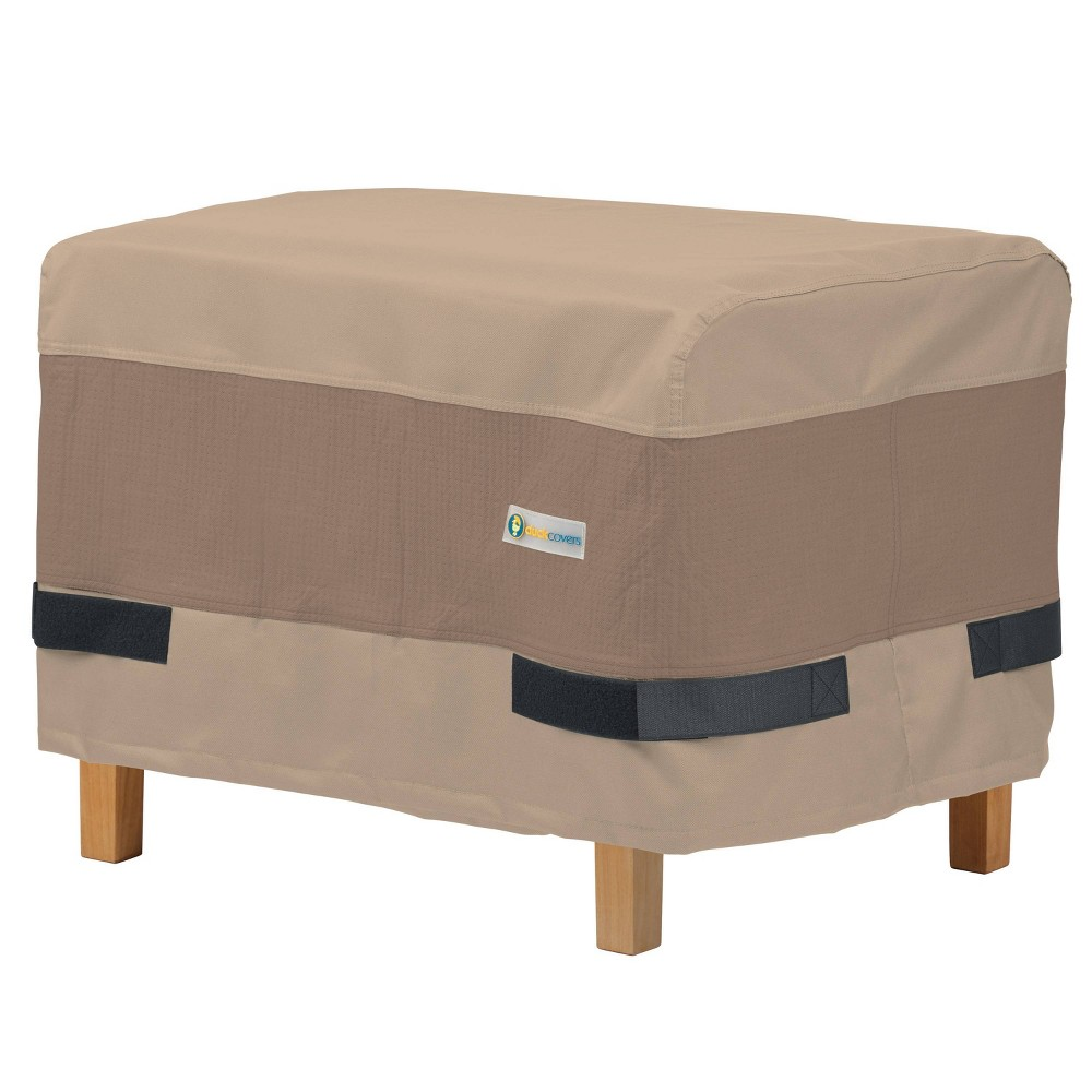32 34 Elegant Rectangular Patio Ottoman Side Table Cover Duck Covers