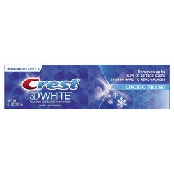 Crest 3D White Arctic Fresh Whitening Toothpaste Icy Cool Mint - 4.1oz