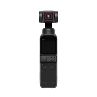 "DJI Pocket 2 3-Axis Stabilized Handheld Camera, Pocket-Sized, with 4K Camera, 1/1.7"" CMOS, 64MP Photo, ActiveTrack 3.0, Black"