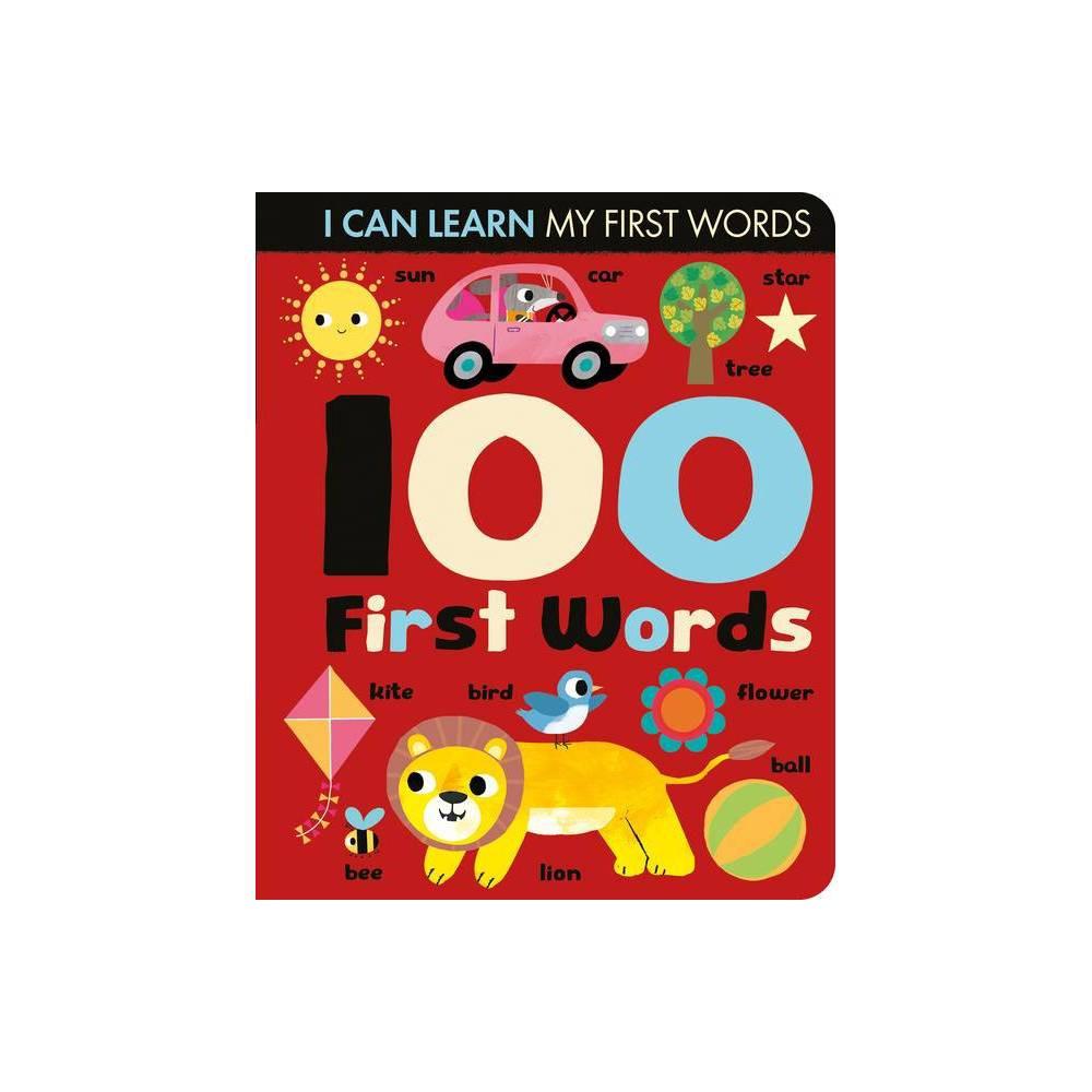 100 First Words I Can Learn By Lauren Crisp Board Book