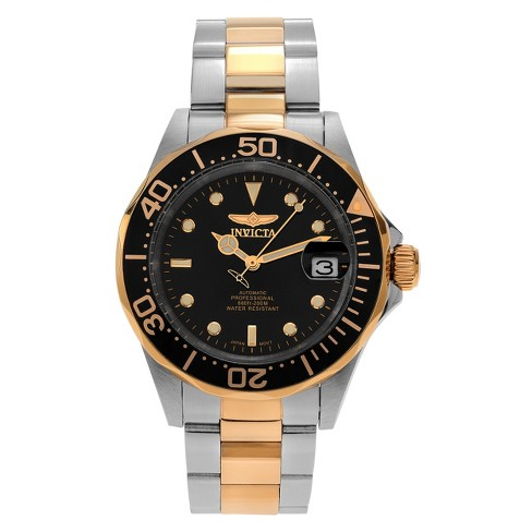 Men's Invicta 8927 Pro Diver Stainless Steel Automatic Three Hand Dial Link Watch - Two Tone - image 1 of 2