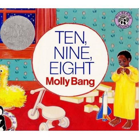 Ten, Nine, Eight (Reprint) (Paperback) by Molly Bang - image 1 of 1