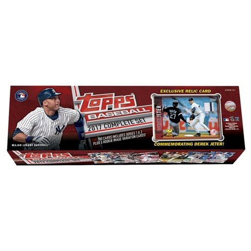 2017 Mlb Topps Complete Rookie Trading Card Set