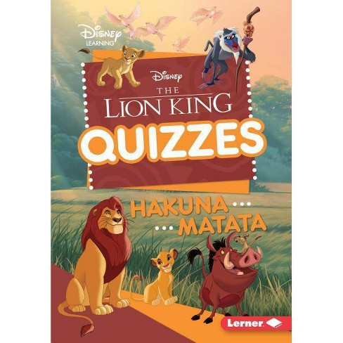 The Lion King Quizzes - (Disney Quiz Magic) by  Heather E Schwartz (Hardcover) - image 1 of 1