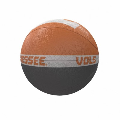 NCAA Tennessee Volunteers Logo Brands Official-Size Rubber Basketball