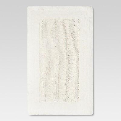 34 x20  Performance Textured Bath Rug White - Threshold™