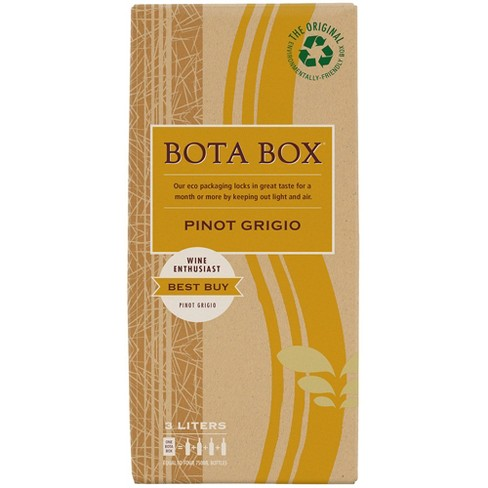 Bota Box Pinot Grigio White Wine - 3L Box - image 1 of 1