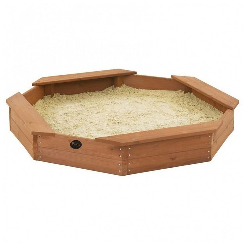 Plum Treasure Beach Wooden Sand Pit - image 1 of 2