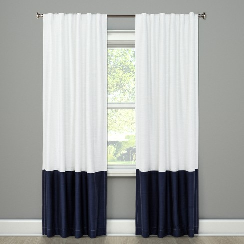 Blackout Color Block Curtain Panel - Project 62™ - image 1 of 2