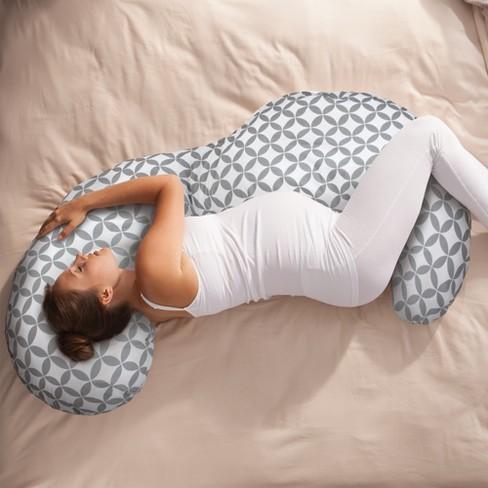 Boppy Slipcovered Total Body Pregnancy Pillow Target