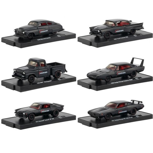 Drivers 6 Cars Set Release 57 in Blister Packs 1/64 Diecast Model Cars by M2 Machines - image 1 of 3