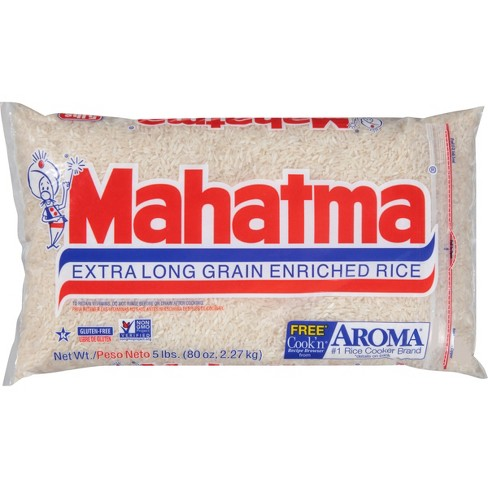 Mahatma Extra Long Grain Enriched Rice - 5lbs - image 1 of 3