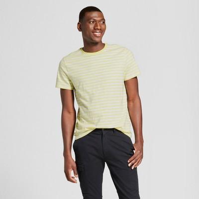 760e1dac3f Mens Striped Standard Fit Short Sleeve Crew Neck T-Shirt - Goodfellow   Co™