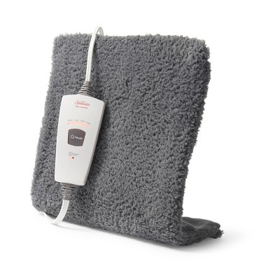 Sunbeam XpressHeat Heating Pad – Gray (Standard Size)
