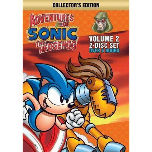Adventures Of Sonic The Hedgehog 2 Dvd Target