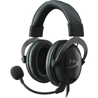 Kingston HyperX Cloud II Headset - Mini-phone - Wired - 60 Ohm - 15 Hz - 25 kHz - Over-the-head - Binaural - Circumaural - 3.28 ft Cable
