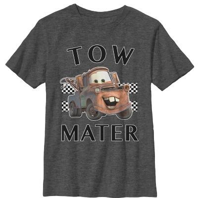 Boy's Cars Tow Mater Portrait T-Shirt