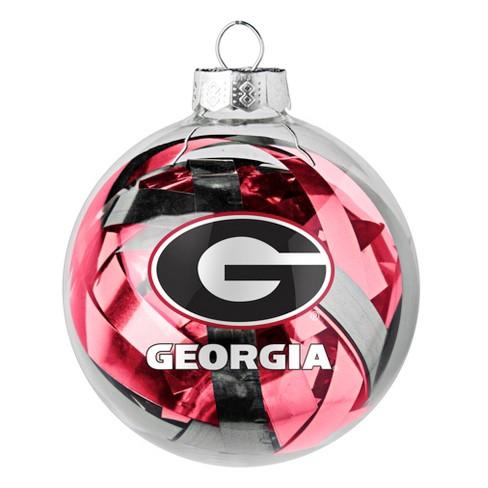 NCAA Georgia Bulldogs Ball Ornament : Target