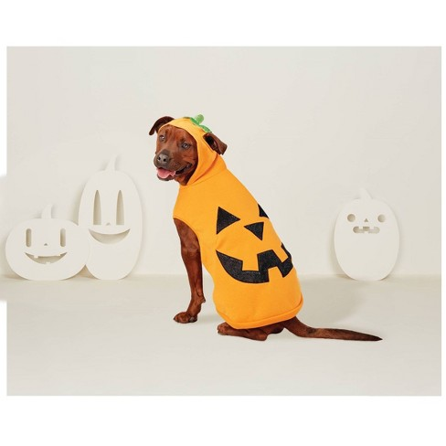 Pumpkin Hoodie Dog & Cat Costume - Hyde & EEK! Boutique™ - image 1 of 1