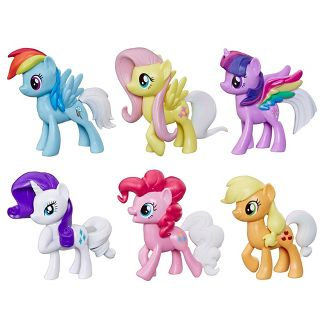 My Little Pony Rainbow Tail Surprise 6pk