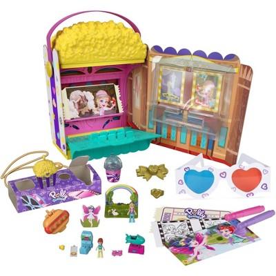 Polly Pocket Un-Box-It Popcorn Box Playset