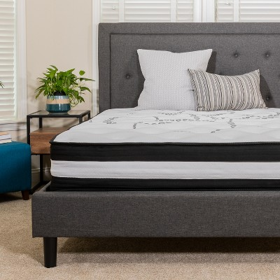 Flash Furniture Capri Comfortable Sleep 10 Inch CertiPUR-US Certified Foam and Pocket Spring Mattress