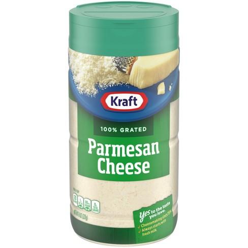 Kraft 100% Grated Parmesan Cheese 8 oz - image 1 of 3