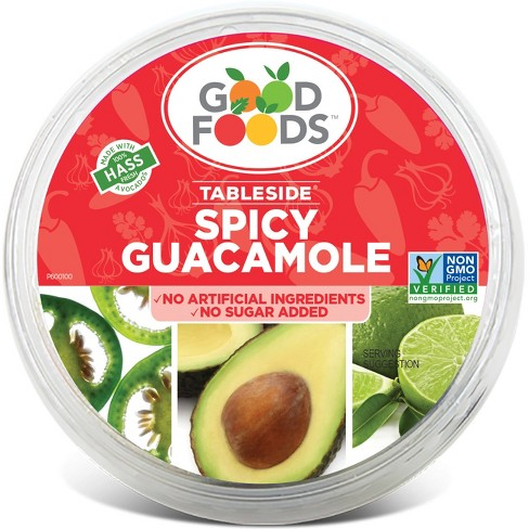 GoodFoods Spicy Guacamole - 7oz - image 1 of 1