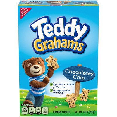 Teddy Grahams Chocolatey Graham Snacks - 10oz