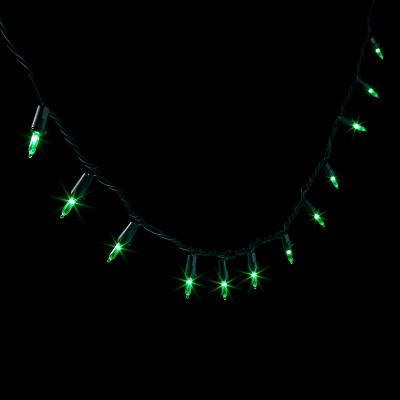 60ct LED Mini String Lights with Green Wire - Wondershop™