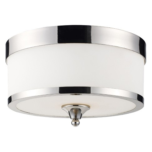 Flush Mount Ceiling Lights with Matte Opal Glass (Set of 3) - Z-Lite - image 1 of 1