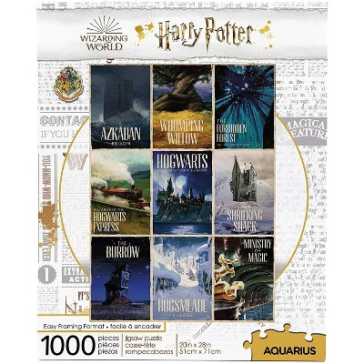 NMR Distribution Harry Potter Travel Posters 1000 Piece Jigsaw Puzzle