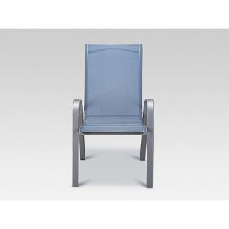 Stack Sling Patio Chair Blue - Threshold™