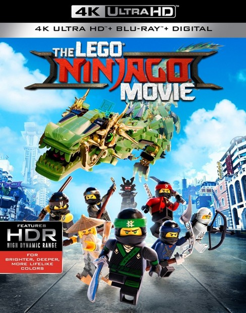 LEGO Ninjago Movie (4K/UHD + Digital) - image 1 of 1