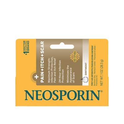 Neosporin First Aid Antibiotic/Pain Relieving Ointment - 1oz
