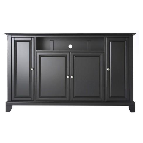 "LaFayette Full Size TV Stand - Black (60"") - Crosley - image 1 of 4"