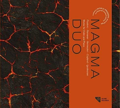 Magma Duo - Works For Violin & Piano (CD) - image 1 of 1