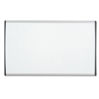 Quartet Magnetic Dry-Erase Board Steel 14 x 24 White Surface Silver Aluminum Frame ARC2414