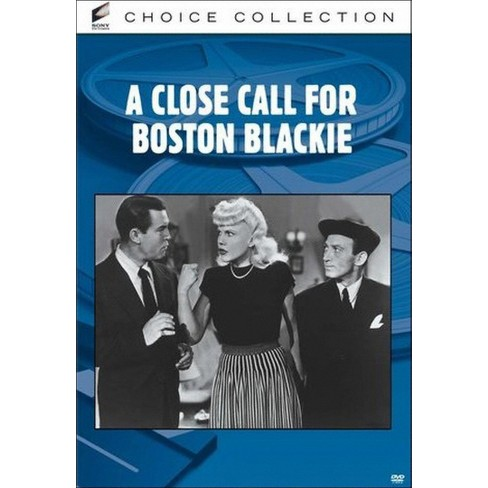 A Close Call For Boston Blackie (DVD) - image 1 of 1