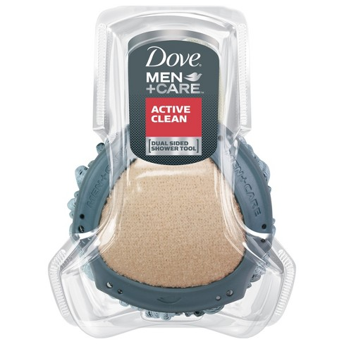Dove Men+Care Active Clean Dual-Sided Body Wash Shower Tool - image 1 of 4