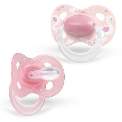 Medela Baby Original Pacifier - Pink 6-18 Months 2pk