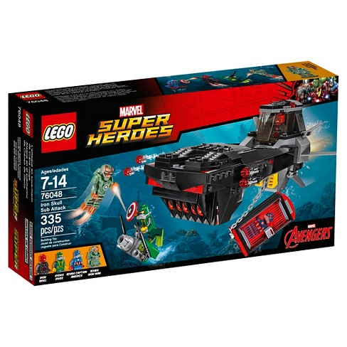 LEGO® Super Heroes Iron Skull Sub Attack 76048 - image 1 of 17