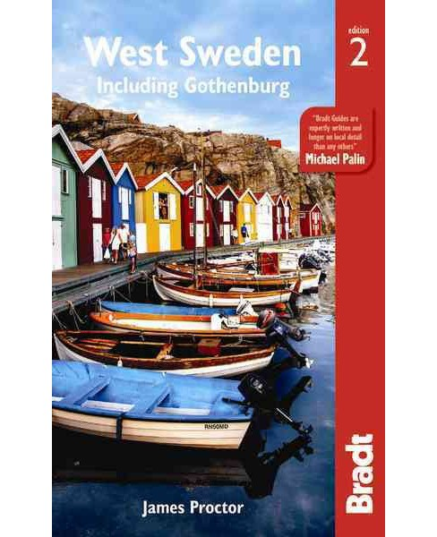 Bradt West Sweden : Including Gothenburg (Paperback) (James Proctor) - image 1 of 1