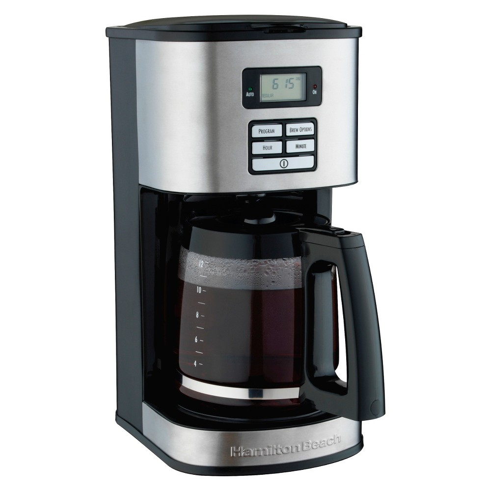 Image of Hamilton Beach 12 Cup Coffee Maker- 49618, Black