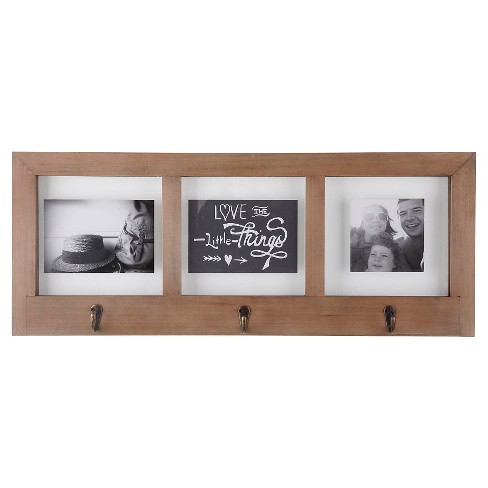 Love The Little Things Multi Image Float Frame With Hooks