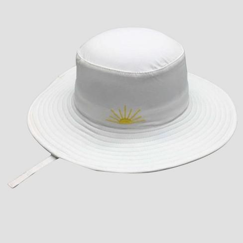 Toddler Floppy Sun Hat - Cat   Jack™ White 2T-5T   Target 576f3ec89d8